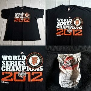 San Francisco Giants 2012 Champions MLB World Seri